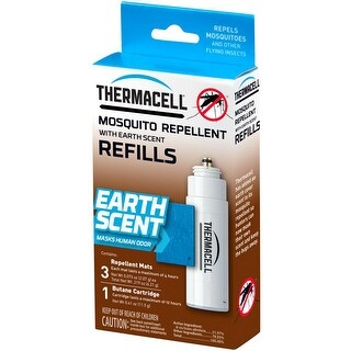 Thermacell Mosquito Repellent Refill Pack, Earth Scent, for Hunting or Fishing - E-1