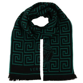 Versace IT00640 100% Wool Mens Scarf