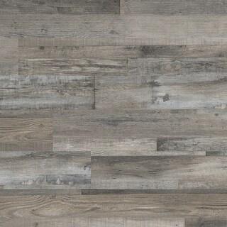 "MSI VTG6X48-2MM-12MIL-WO  Glenridge 6"" Wide Waterproof Smooth White Oak-Imitating Glue down Luxury Vinyl Planks"