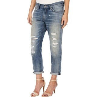 Lucky Brand Womens Sienna Boyfriend Jeans Destroyed Cropped