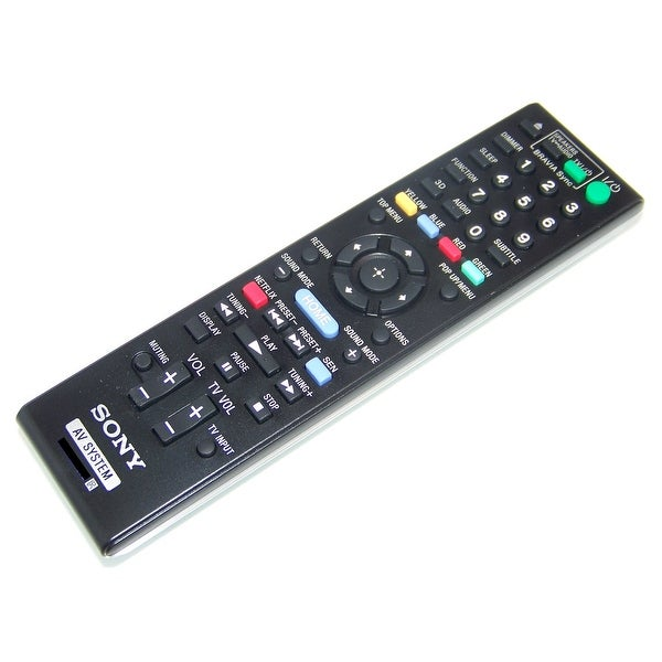 OEM Sony Remote Control Originally Shipped With: HBDT79, HBD-T79