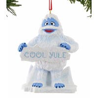 "Department 56 North Pole Rudolph the Red Nosed Reindeer Series ""Bumble On Ice"" Christmas Ornament  #4040300"