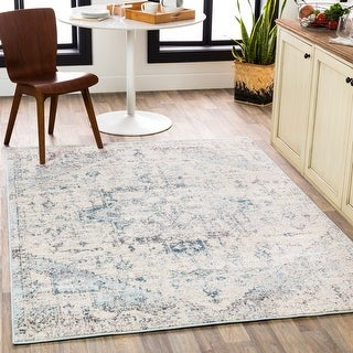 Link to Porch & Den Esther Faded Traditional Medallion Area Rug Similar Items in Rugs
