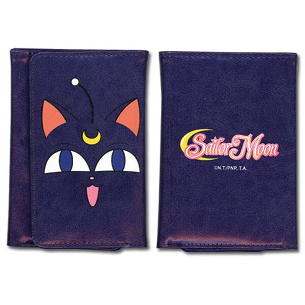Sailor Moon Luna Face Wallet - Purple