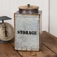 Square Storage Bin