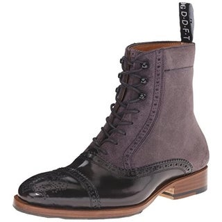 John Fluevog Womens Hartford Suede Colorblock Chukka Boots - 7 medium (b,m)