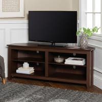 Buy 42 60 Inches Corner Tv Stands Online At Overstock Our Best Living Room Furniture Deals