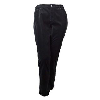 Lauren Ralph Lauren Women's Straight Leg Corduroy Pants