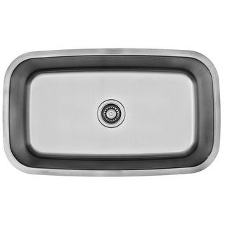 "Builder's Choice 32"" Undermount Large Single Bowl Stainless Steel Sink"