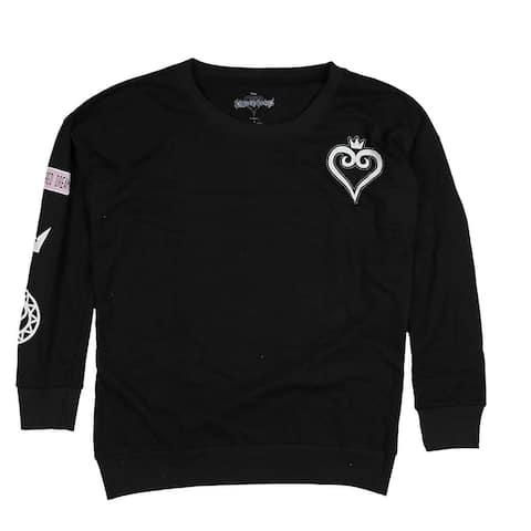 Disney Kingdom Hearts Heart Women's Crew Sweater, Plus Sizes