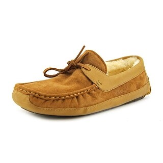 Ugg Australia Byron Men Suede Tan Moccasin Slippers Shoes