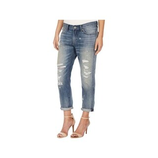 Lucky Brand Womens Sienna Boyfriend Jeans Destroyed Cropped (4 options available)
