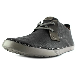 Clarks Neelix Vibe Men Round Toe Leather Sneakers