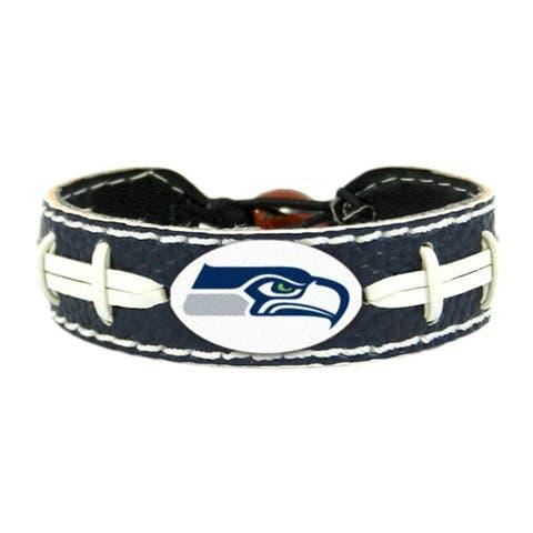 Seattle Seahawks Bracelet Team Color Football