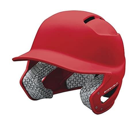 EvoShield Impact Travel Ball Batter's Helmet (Scarlet / Junior)