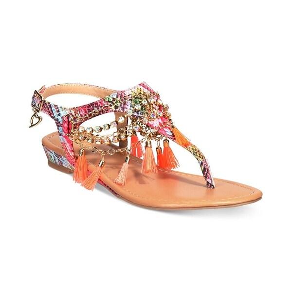 Thalia Sodi Womens Zella Split Toe Casual Slingback Sandals