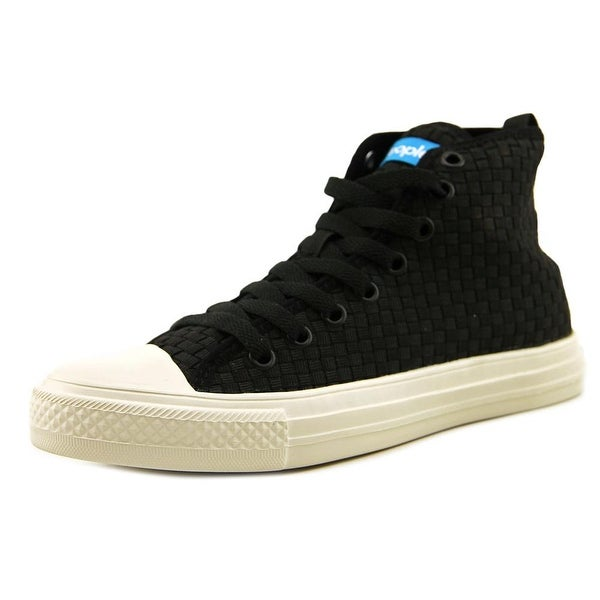 People Footwear The Phillips High Women Round Toe Synthetic Black Sneakers