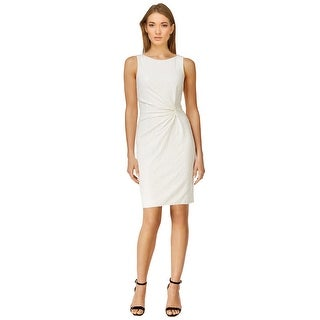 Calvin Klein Sequin Sleeveless Sheath Cocktail Day Dress