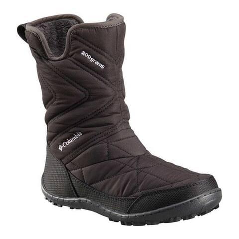 Columbia Children's Minx Slip III Boot Black/White