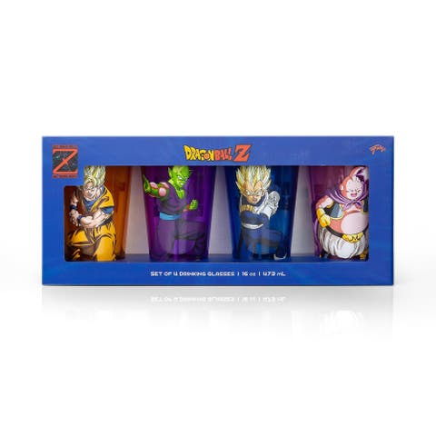 Dragon Ball Z Fighters Pint Glasses
