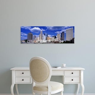 Easy Art Prints Panoramic Images's 'Charlotte, North Carolina, USA' Premium Canvas Art