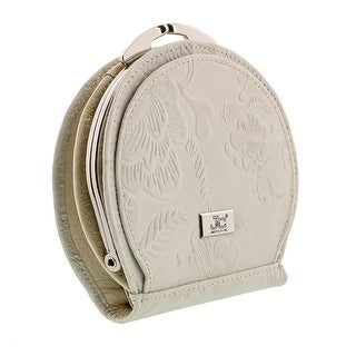 Jacky&Celine J25-002-023 Light Grey Leather Compact Purse