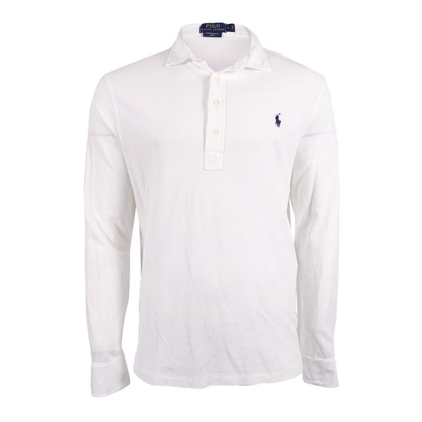 RALPH LAUREN Featherweight Cotton Mesh Polo Size 7