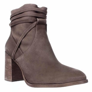 Steve Madden Percy Block Heel Ankle Boots, Taupe