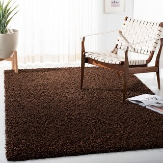 Link to Safavieh Athens Shag Ilaha Solid Rug Similar Items in Shag Rugs