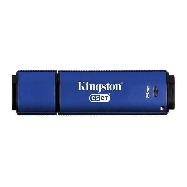 Kingston - 8Gb Dtvp30av, 256Bit Aes Encrypted Usb 3.0 + Eset Av
