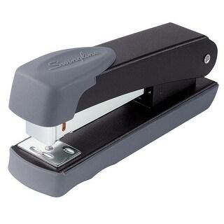 ACCO Swingline 711 Compact Commercial Half Strip Desk Stapler, 35440 Staples, 20 Sheets, 105 Staple, Black