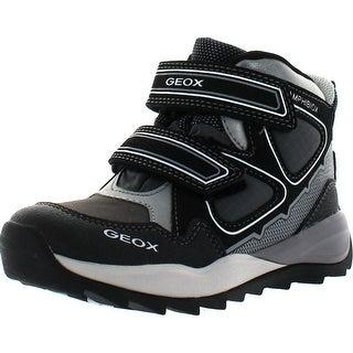 Geox Boys Orizont Bunjee Duck Waterproof Fashion Boots