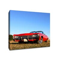 American Classic - Cars Collection - 13x13 Gallery Wrapped Canvas Wall Art