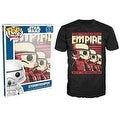 Funko Pop Black Star Wars Stormtrooper Emp T-Shirt - Thumbnail 0