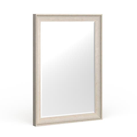 Kate and Laurel McKinley Framed Beveled Wall Mirror