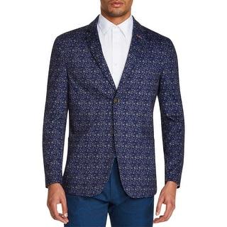 Link to Tallia Sport Mens Blazer Floral Slim - Black Similar Items in Sportcoats & Blazers
