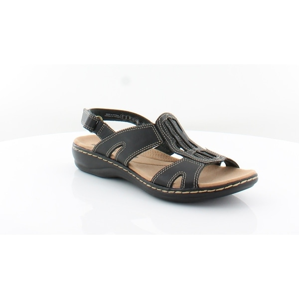 d945c5bbe3869 Shop Clarks Leisa Skip Women's Sandals Black - 8 - Free Shipping ...