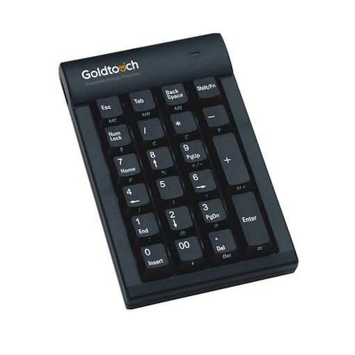 Goldtouch Gtc-0077 Pc Usb Numeric Keypad - Black
