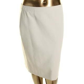 BOSS Hugo Boss Womens Stretch Solid Pencil Skirt