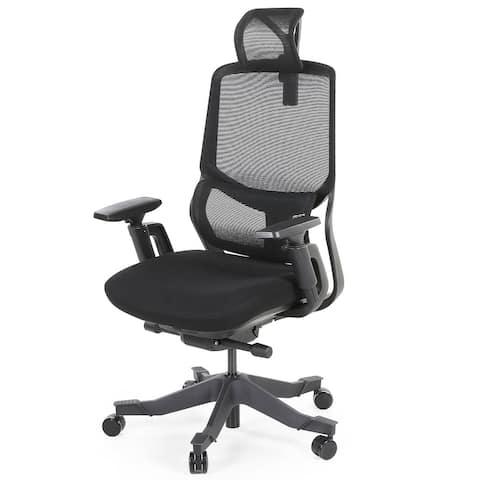 Ergonomic Office Mesh Task Chair with adjustable headrest