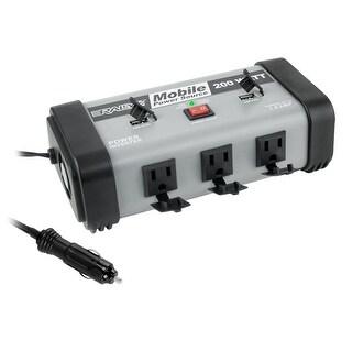 Rally 200 Watt Mobile Power Inverter Source with USB Ports, 7462
