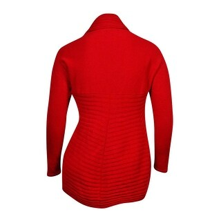 Alfani Women's Ribbed Open Front Cardigan Sweater