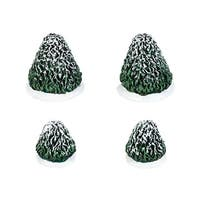 "Department 56 Snow Village ""Tudor Gardens Topiaries St/4"" Accessory #4038844 - green"