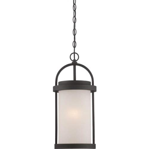 Nuvo Lighting 62/655 Willis 1 Light LED Outdoor Pendant - 9 Inches Wide