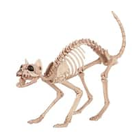 Skeleton Kitty Bonez Halloween Decoration