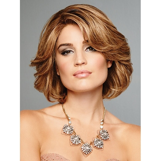 The Art of Chic by Raquel Welch Wigs - HUMAN HAIR - Double Monofilament Cap Wig - CLOSE OUT