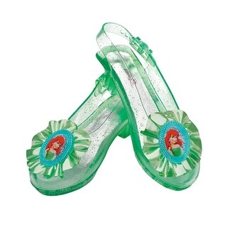 Girls Disney Ariel Sparkle Halloween Shoes Set