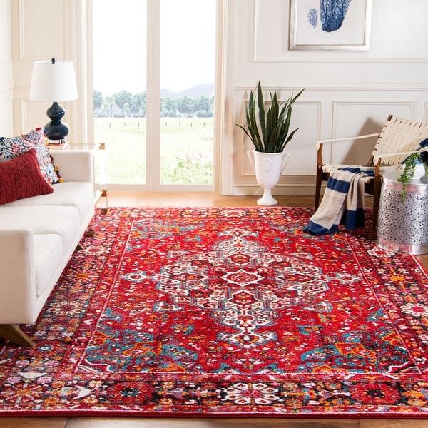 SAFAVIEH Vintage Hamadan Hayriye Traditional Oriental Rug. Opens flyout.