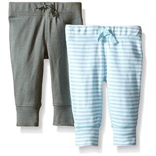 Carter's Baby Boys' 2 Pack Pants (Baby) - LightBlue - 6 Months