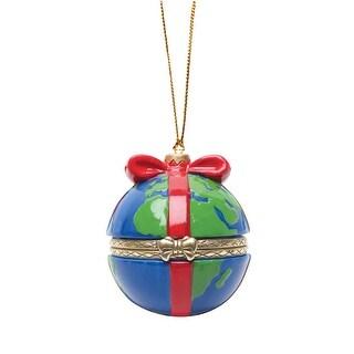 Christmas Tree Ornament Box - Earth